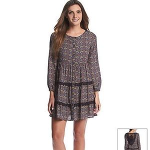 Taylor & Sage NWT crochet back tiered front dress